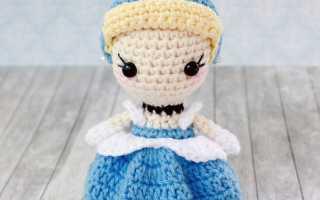 Золушка, кукла-перевертыш, вяжем руки, волосы и аксессуары. Как сделать из золушки принцессу Как сделать золушку из
