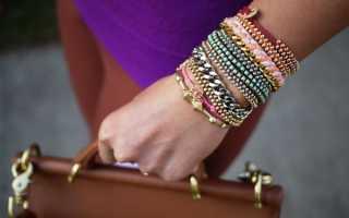 Как сделать браслет из мулине. Как сделать браслет из ниток своими руками: украшения давних традиций
