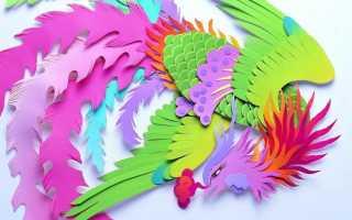 Поделки из цветной бумаги своими руками: инструкция, фото. Поделки из бумаги своими руками: видео, фото, мастер-классы