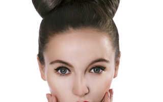 Быстрые прически гулька с бантом из волос. простых способов, как сделать бант из волос. Прическа бант из волос