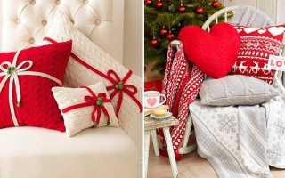 Новогодние идеи декора вязаными вещами. Вязаные украшения для новогоднего декора Украшения к новому году связанные крючком