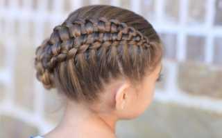 Корзиночка из волос для девочек. Как сделать прическу-корзинку на волосы разной длины. Больше корзинок — хороших и разных