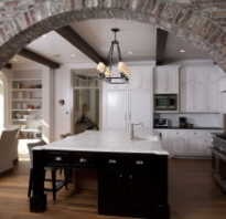 Как красиво оформить квадратную арку декоративным камнем. Отделка арки декоративным камнем — хорошее решение