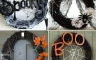 Как украсить дом на Хэллоуин: чертовски страшный декор. Как сделать украшения на хэллоуин своими руками