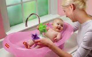 Приступаем к таинству: первое купание новорожденного малыша. Как правильно первый раз купать новорожденного ребенка