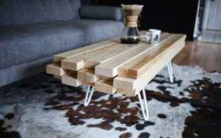Самодельный деревянный столик своими руками. Изготовление журнального столика своими руками: от идей до реализации