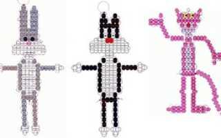 Объемные фигуры из бисера схемы животных. Схемы животных из бисера для начинающих: лучшие идеи для мини-зоопарка