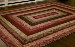 Японский коврик из старого трикотажа. Коврики из старых вещей: как сделать? Коврик из косичек: изготовление