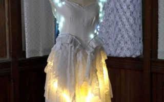 Как сделать подсветку на платье. Необычная Новогодняя юбка — карнавальная юбка со светодиодами. Сомнения и выбор