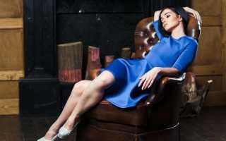 Темно синее вечернее платье в пол. Синее платье — модный, стильный наряд! С чем носить синее платье в пол