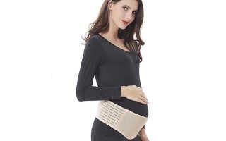 Когда и для чего нужно носить бандаж для беременных? Как правильно подобрать размер дородового бандажа