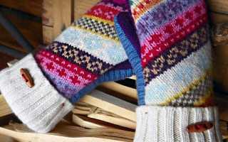 Рукавицы и варежки из старого свитера. Варежки своими руками. Как сделать варежки из старого свитера