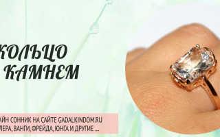 Сонник кольцо с зеленым камнем на пальце. Что значит видеть во сне кольцо с камнем на пальце или одевать