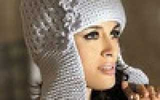 Вязаные женские шапки зима. Головные уборы из меха. Женские ажурные шапки вязаные спицами на весну: схема с описанием