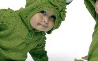 Вязать детский комбинезон спицами для новорожденных. Вязание спицами для новорождённых. Схемы с описанием, видео