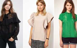 Всегда актуально и женственно! Самые модные блузы. Женские блузки: короткий рукав Красивые женские блузы