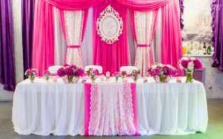 Оформление стола молодоженов красно белый. Оформление свадебного стола своими руками: интересные идеи (78 фото)