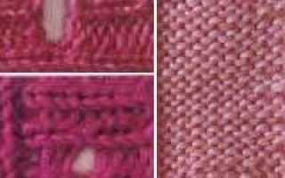 Вязание петель для пуговиц. Распределение и вывязывание петель для пуговиц Вязание крючком петли для пуговиц