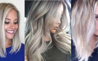 Окрашивание Ombre Hair (омбре, балаяж, растяжка цвета). Блондинка с темными корнями. Как покрасить темные корни блондинке