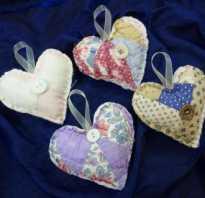 Как сделать сердце из ткани своими руками. Сердечки из ткани своими руками. Сборка деталей и декорирование