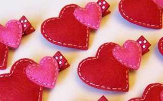 Сердце из фетра своими руками выкройки. Подборка для вдохновения: Сердечки из фетра. Гирлянды из сердечек