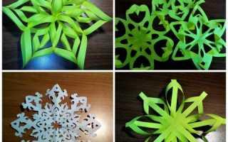 Как вырезать красивые снежинки своими руками, схемы снежинок. Мастер-класс из бумаги «Новогодняя снежинка