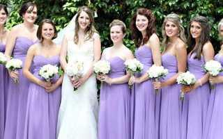 Макияж на свадьбу в сиреневых тонах. Оформление свадьбы в фиолетовых оттенках. Шары подходят как никогда