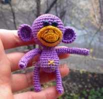 Схема вязаной большой обезьяны крючком. Как связать обезьянку крючком, описание с фото. Что такое амигуруми