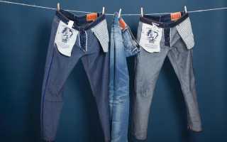 Как выглядят джинсы райфл после нескольких стирок. Истории levi's®. Типичные ошибки при стирке джинс levis