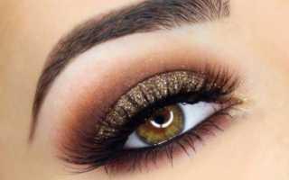 Красивый пошаговый макияж для карих глаз. Макияж карих глаз — добавь сияние! Макияж карих глаз для брюнеток