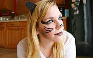 Образ драной кошки на хэллоуин. Макияж кошки на Хеллоуин своими руками: оригинально, просто, соблазнительно