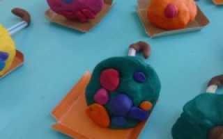 Конспект занятия в средней группе лепка «цветные зонтики». План-конспект занятия по лепке в средней группе «грибы»
