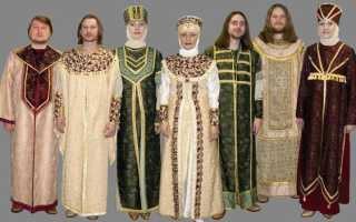 Какую одежду носили в старину на руси. Древняя Русь: одежда. Одежда на Руси: женская, мужская, детская