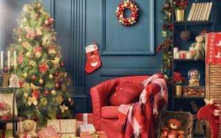 Идеи для новогоднего декора комнаты. Делаем украшения вместе с детьми. Новогодняя гирлянда из сердец