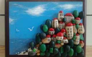 Что сделать из морской гальки. Поделки из камней своими руками. Описание работы и фото готовых изделий