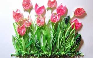 Как сделать тюльпан по квилингу первые шаги. Тюльпаны квиллинг своими руками. Мастер-класс по квиллингу: тюльпаны