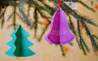 Детские новогодние поделки из бумаги своими руками. Простые зимние и новогодние поделки с детьми своими руками