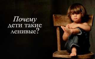 Что такое Лень или Почему ребенок ленится; И как помочь ему избавиться от этого порока? Ленивый ребенок